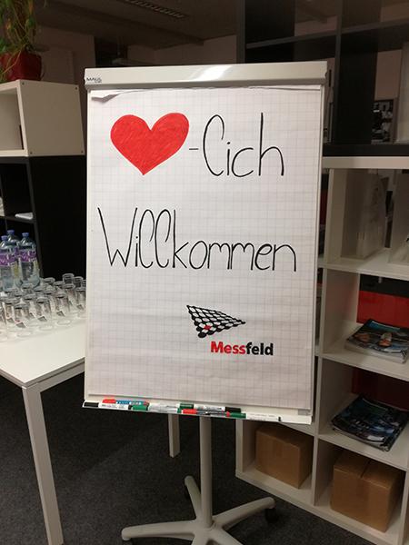 Herzlich Willkommen bei der Messfeld GmbH